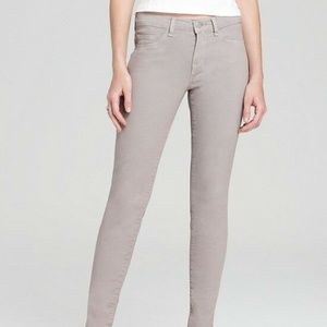 J BRAND Anthropologie 811 Grey Skinny Jeans SZ 29